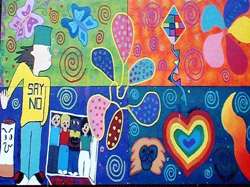 Mural Say No 2003