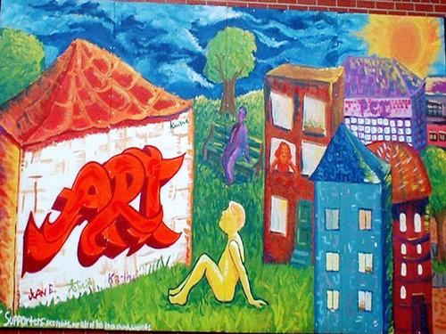 Mural Parkdale Mural 2002